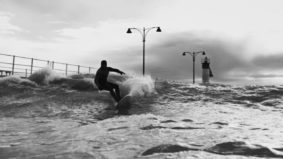 These Ontario surfers ride the Great Lakes' wild waves in the dead of winter