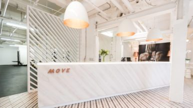 Inside Move, a swanky all-women fitness club in Leslieville