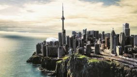 This Toronto photographer reimagines the skyline as a post-apocalyptic dystopia