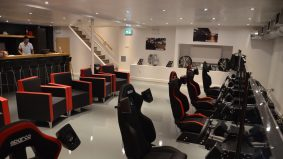 Inside RaceSim1, Toronto's sleek new racing-simulation arcade