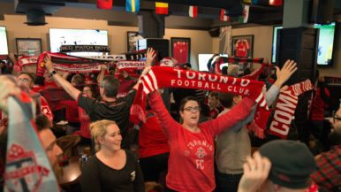 """""""We took our son to his first game when he was 21 days old"""": TFC supporters on what makes them the team's biggest fans"""