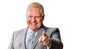 What has Doug Ford done so far?