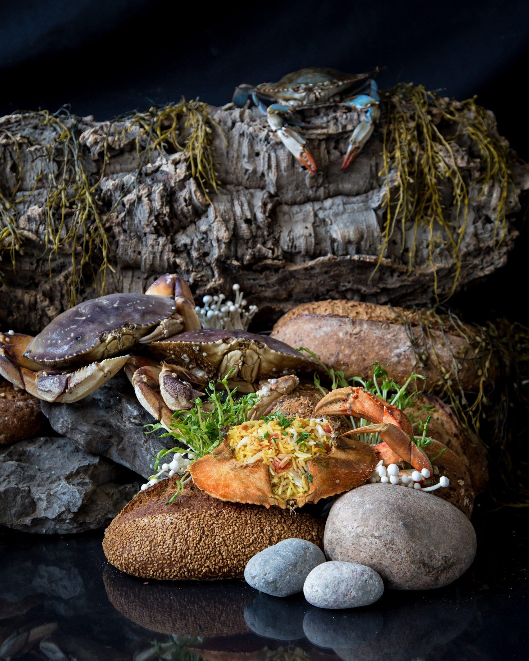 janice-poon-feeding-hannibal-crab-pilaf-web