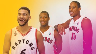 Toronto's 50 Most Influential: #34, Cory Joseph, Kyle Lowry and DeMar DeRozan