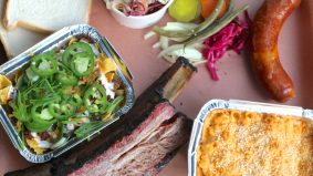 What's on the menu at Smoke Signals Bar-B-Q, a new smokehouse that serves Frito Pie