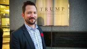 """I can always do business with an asshole, but not a liar"": People at Toronto's Trump Tower talk about the American election"