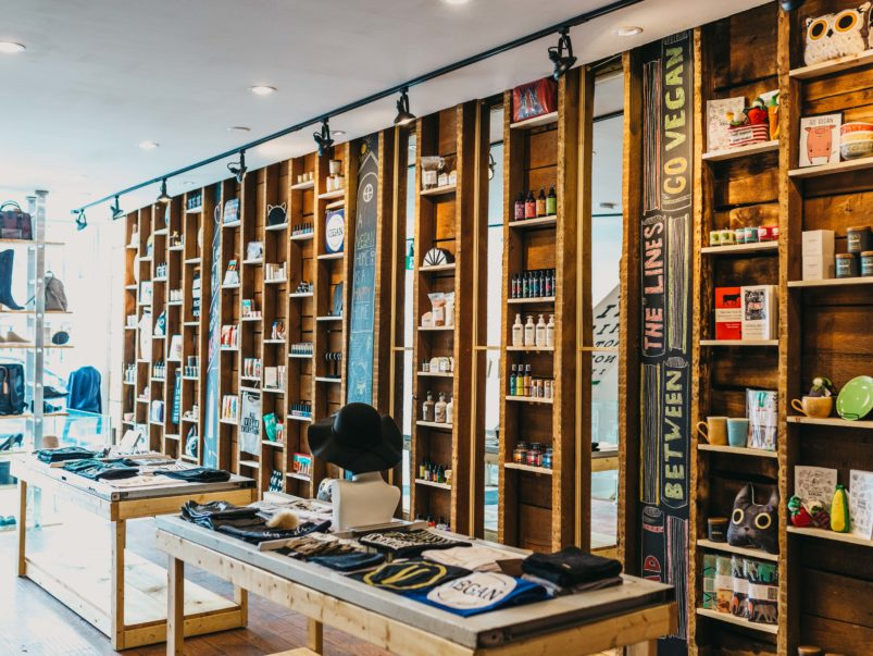 Inside The Imperative, a new all-vegan boutique in Parkdale with a selfie wall and cruelty-free condoms