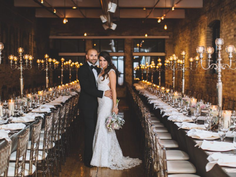 Real Weddings 2016: Inside Buca chef Rob Gentile and wife Audrey's rustic celebration at the Burroughes Building