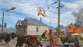 Kent Monkman reimagines Canada's colonial history with sex and drag queens
