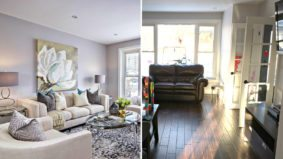 How a stager brightened, decluttered and totally rearranged a $750,000 Etobicoke home