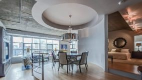 Condo of the Week: $1.2 million for a downtown warehouse loft with a curvy interior