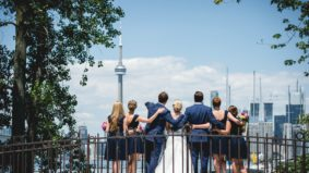 Real Weddings 2017: Inside a ceremony at the Royal Canadian Yacht Club, with a lake-cruising afterparty aboard a sailboat