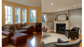 How a stager made a dark Tudor (relatively) light and airy