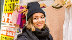 American Apparel clearance sale shoppers share what they think of the chain's demise