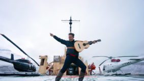 This musician recorded an album with Chris Hadfield on a ship in the Arctic