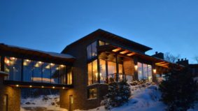 Five super-luxurious ski-country getaways that you can buy this winter (if you're loaded)