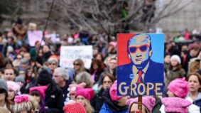 The best protest signs from Toronto's Women's March on Washington