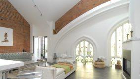 Rental of the Week: $3,500 per month for a loft in a former church near Dufferin Grove