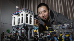 How a TTC streetcar driver custom-built a massive Toronto-themed Lego collection