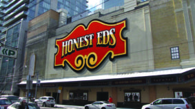 Part of the Honest Ed's sign may be saved after all