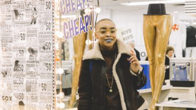 Street Style: Honest Ed's farewell weekend