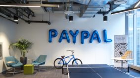 Inside PayPal's new office, with communal bikes, cold brew on tap and catered lunches four days a week