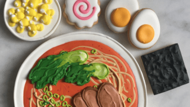 This Toronto baker makes cookies that look like everything from Drake to bowls of ramen