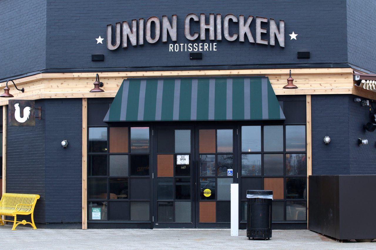 toronto-restaurants-union-chicken-sherway-gardens-yannick-bigourdan-exterior