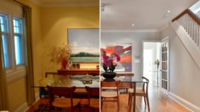 How a stager brightened up an east-end home that sold for $200,000 over asking