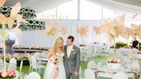 Real Weddings 2017: Inside a lavish, summery celebration at Magna Golf Club