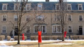 Q&A: Jaime Black, the artist hanging red dresses around U of T campus