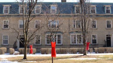 Q&A: Jaime Black, the artist hanging red dresses around U of T campus