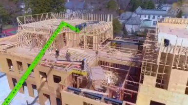 Drake's massive Bridle Path mansion is shaping up nicely