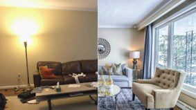 How a stager refreshed a North York home's interior without ever picking up a paintbrush
