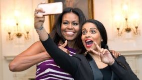 A bunch of times Lilly Singh hung out with super-famous people
