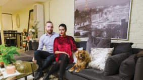 """It would be nice to be able to afford a house, but who knows"": A couple makes over $100,000 a year and lives in a basement apartment"