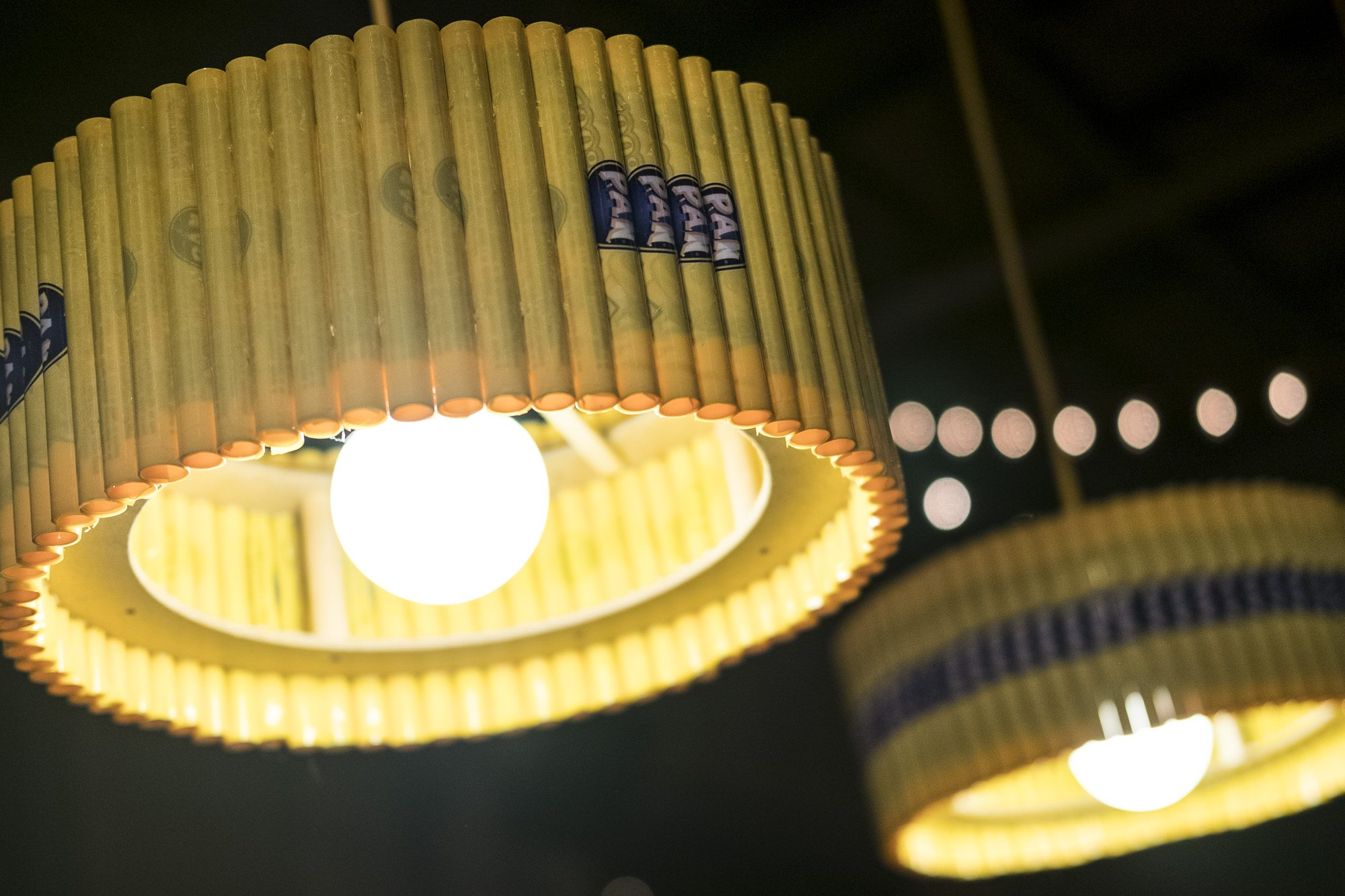 toronto-food-events-trashed-and-wasted-all-garbage-artscape-wychwood-barns-arepa-cafe-lamps