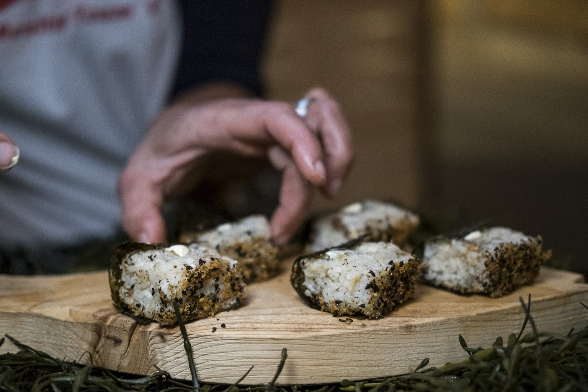 toronto-food-events-trashed-and-wasted-all-garbage-artscape-wychwood-barns-hooked-inc-onigiri