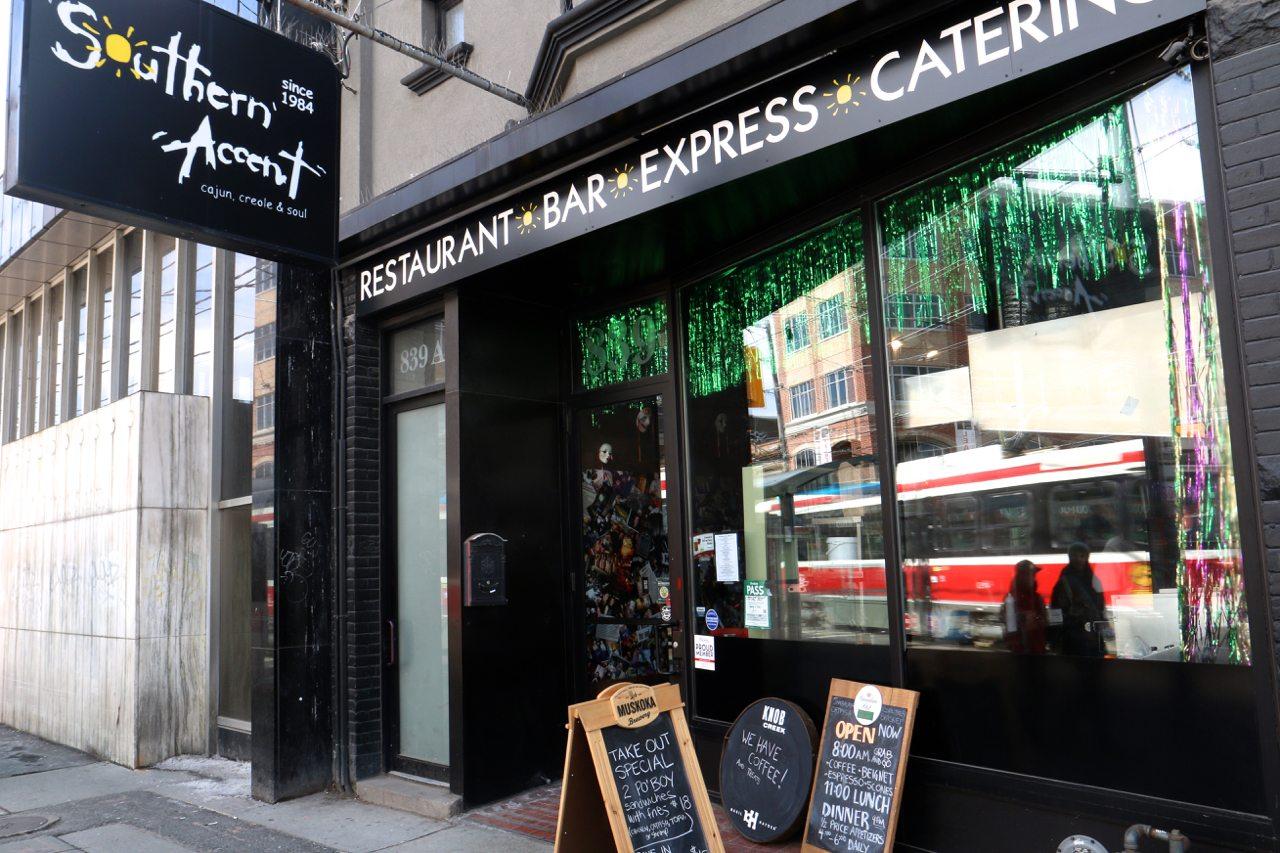 toronto-restaurants-southern-accent-cajun-college-street-exterior