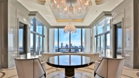 The Four Seasons penthouse is finally up for sale