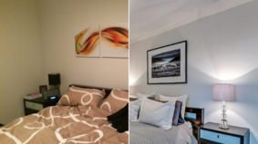 How a stager brightened and decluttered a small Liberty Village condo