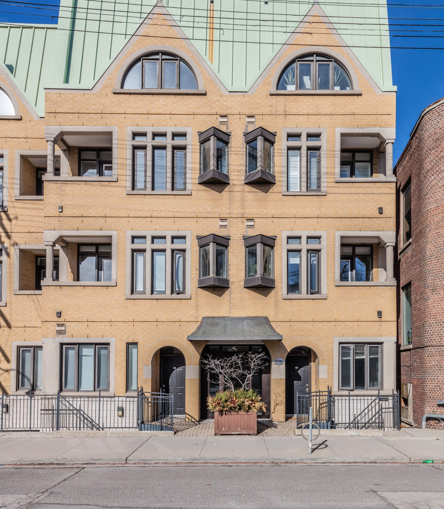 The condo for sale at 33 Davenport Road