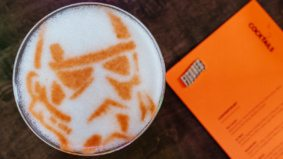 What's on the menu at Figures, a comic book–themed restaurant and bar in Yorkville
