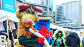 Some photos from Toronto's first post-pot-legislation 4/20 rally