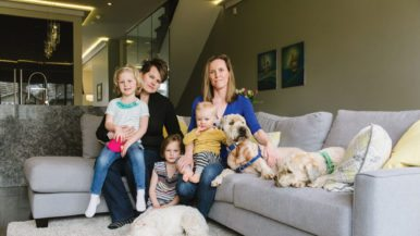How one family dove into real estate when everyone else was fleeing