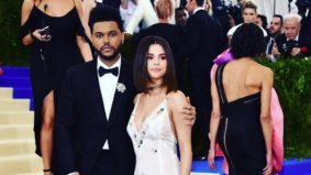 The Weeknd and Selena Gomez made their PDA-filled red-carpet debut at the Met Gala last night