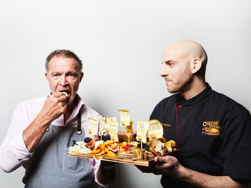 Say cheese: Toronto heavyweights Afrim Pristine and Mark McEwan are teaming up