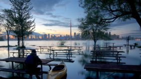 Flooding on the Toronto Islands is terrible—but also weirdly beautiful