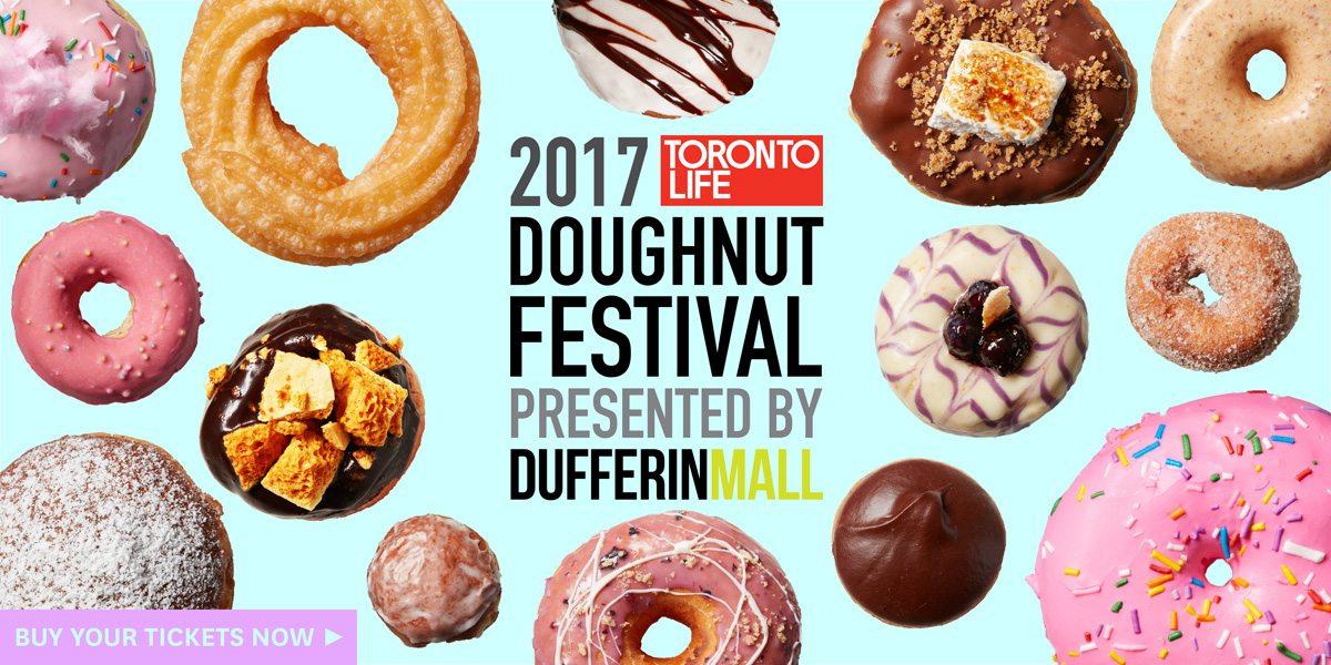 Toronto Life's 2017 Doughnut Festival in partnership with Dufferin Mall