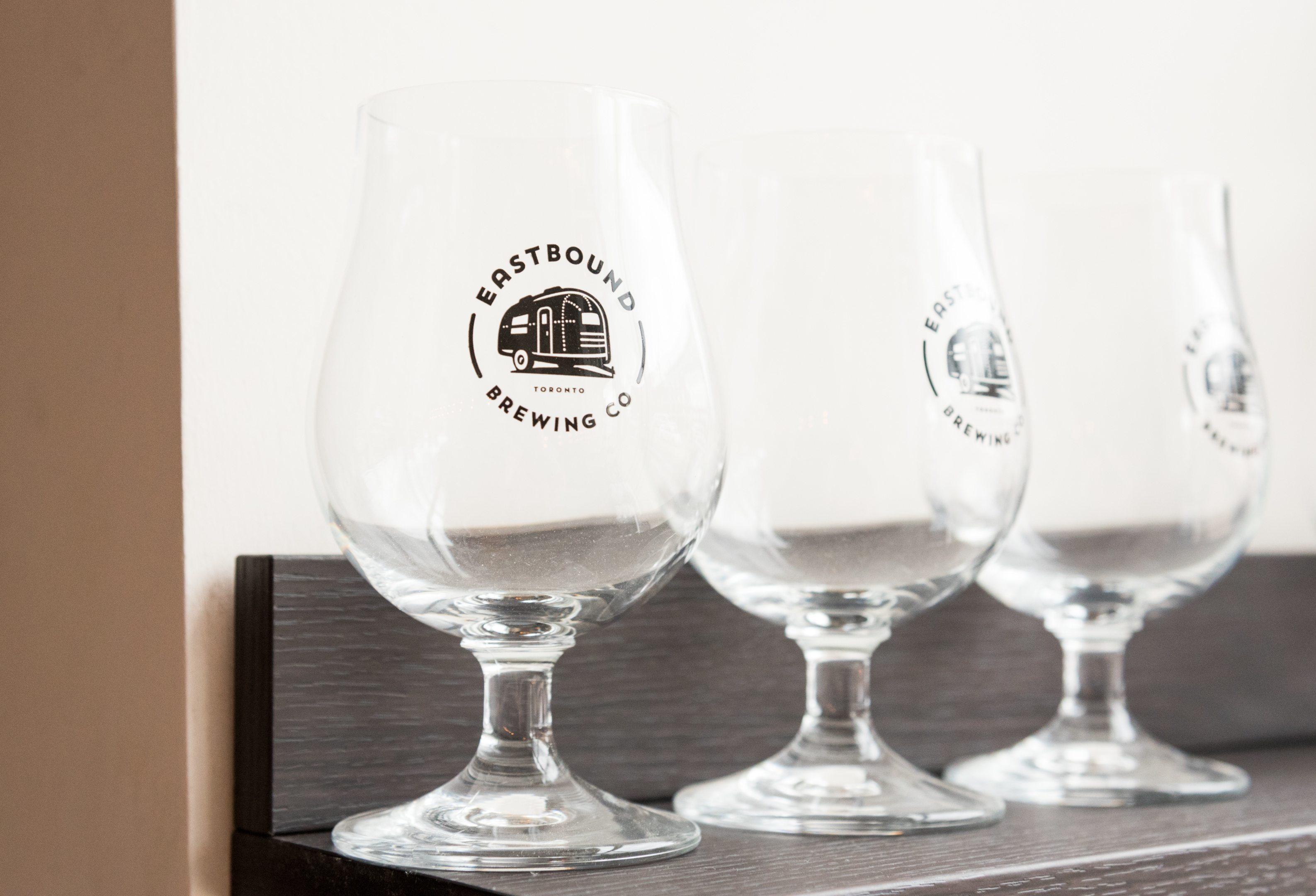 toronto-restaurants-breweries-eastbound-brewing-co-leslieville-beer-glasses